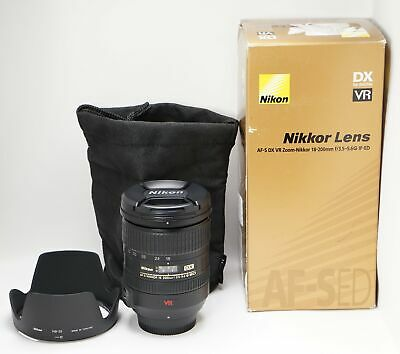 Nikon Nikkor AF-S DX VR 18-200mm f/3.5-5.6 aspherical Zoom Lens IF-ED