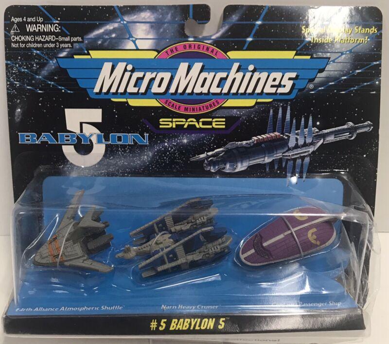 Babylon 5 Micro Machines EA Atmosphere Shuttle Narn Heavy Cruiser Centauri Ship