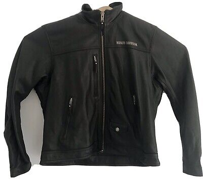 Mens Authentic Harley Davidson Premium Leather Jacket. Mens Size XXL