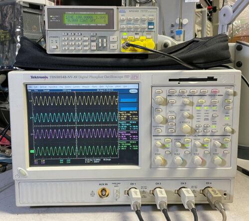 TEKTRONIX TDS5054B DPO Oscilloscope 4CH 500MHz 5GS/s 3M SM J2 USB PW3 JA3 JE3 18