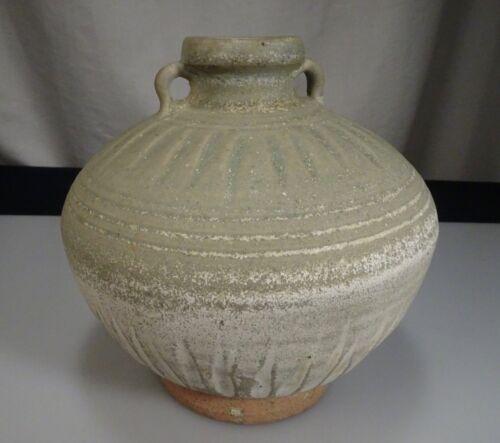 "Antique Thai Sawankhalok 14th/15th Century Stoneware 5.75"" 14.6cm Jar - 57064"