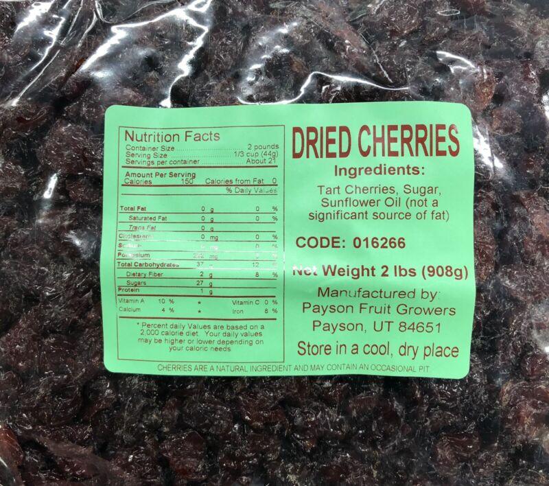 2lb Delicious Dried  Cherries (32 oz)