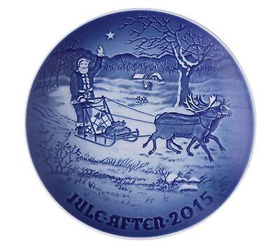 Royal Copenhagen Bing & Grondahl 2015 Annual Christmas Plate Santa's Presents