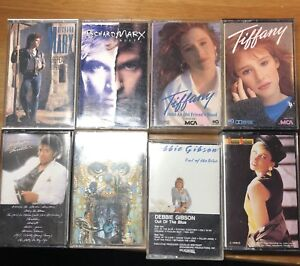 A whole lot of cassette tapes