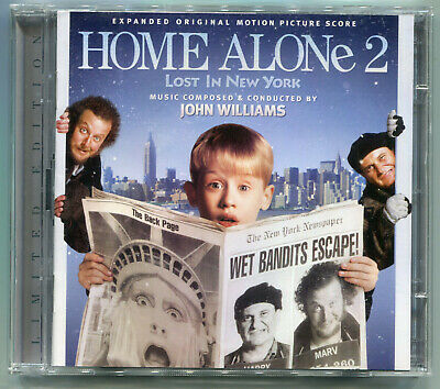 HOME ALONE 2 Lost in New York JOHN WILLIAMS 2CD Limited 3000