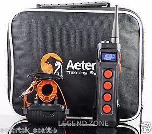 AETERTEK Waterproof  Rechargeable 1000 Meter  Remote Dog Training Shock Collar