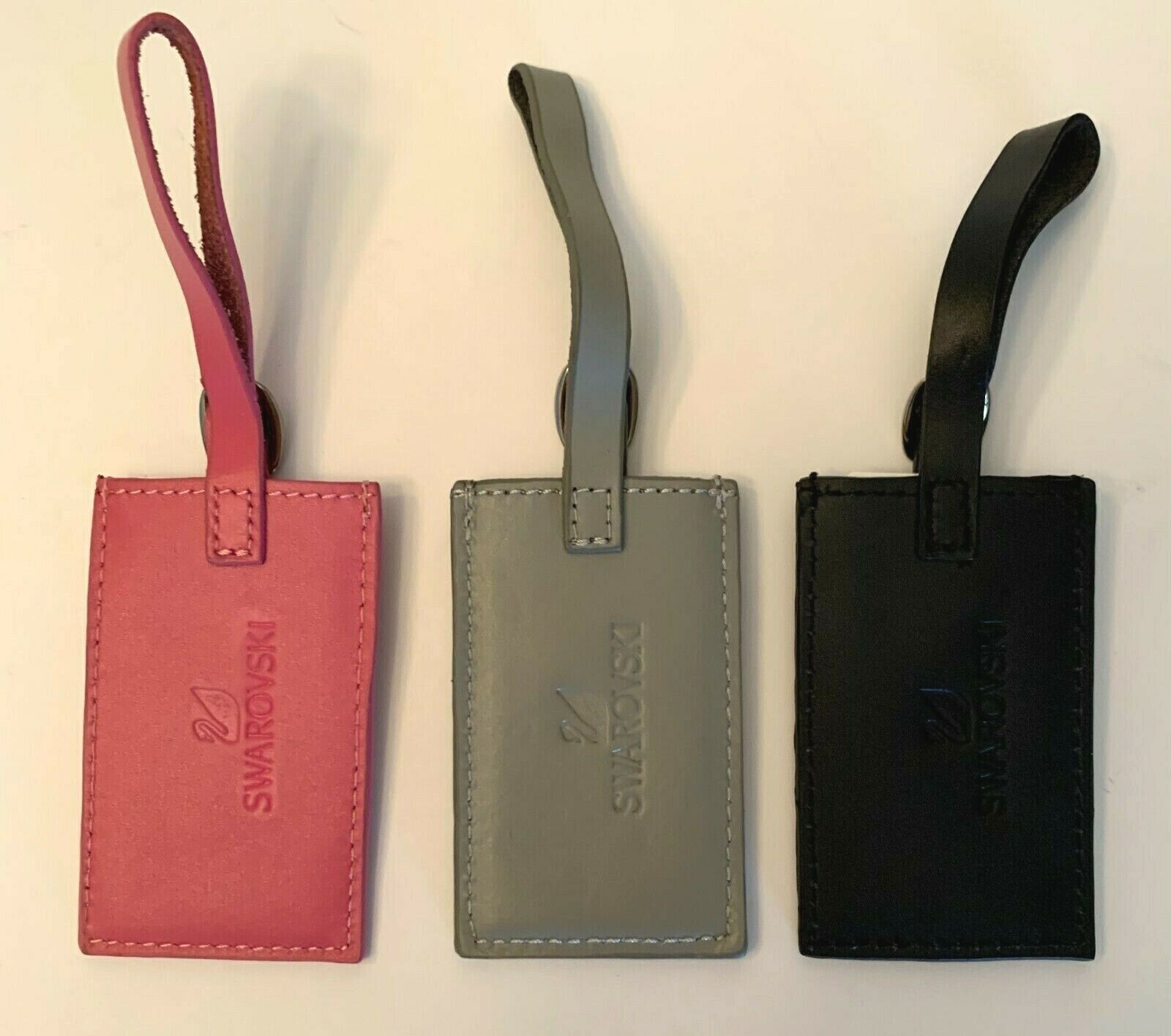 Swarovski Event Gift 3 Multi-Color Luggage Tags New - $15.00