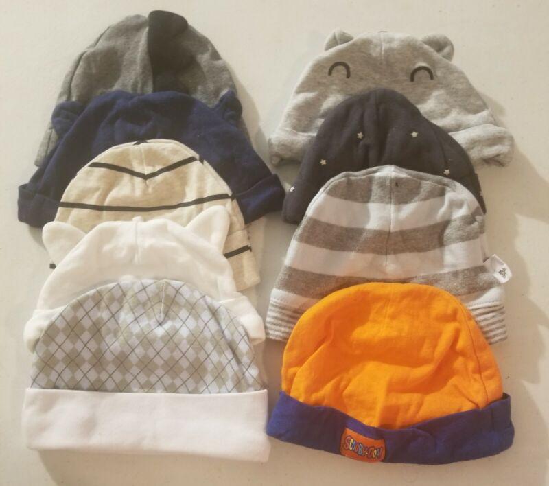Baby hat set of 9
