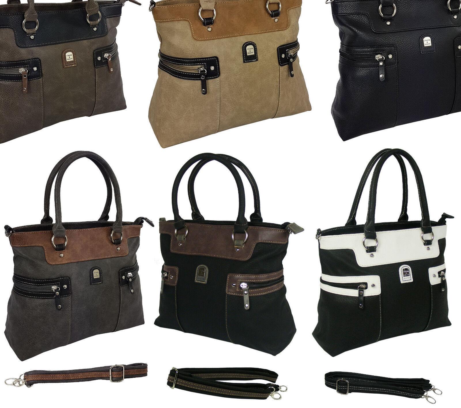 cde45f2475780 Handtasche Schwarz Schultertasche Damen Shopper Bag gross groß XL  Damentasche S7. Neu Damentasche Bag Handtasche Shopper Schultertasche  Tragetasche 1896     ...