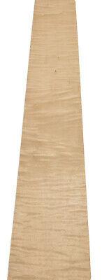 Curly Maple Wood Veneer 8 Sheets 42 X 4.5 10 Sq Ft