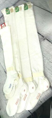 Vintage Mayknit Artists Rayon Cotton Socks Stockings Sz 8 1/2 NOS Film Prop Lot
