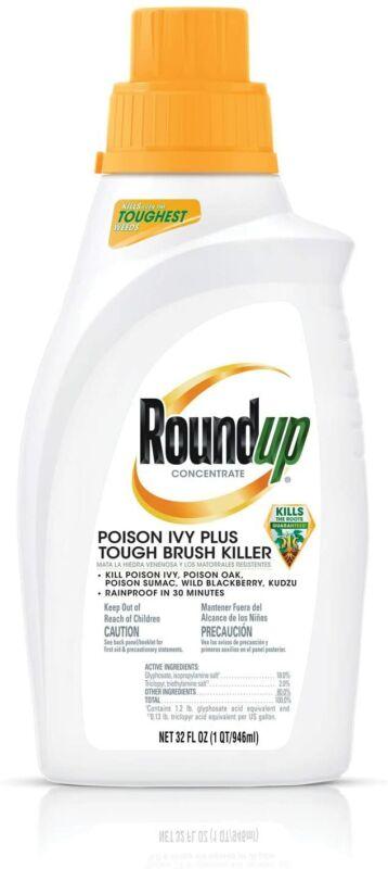 Roundup Concentrate Poison Ivy Plus Tough Brush Killer 32 oz.