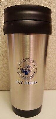 Federal Bureau of Prisons FCC Oakdale 16oz Stainless Steel Coffee Mug