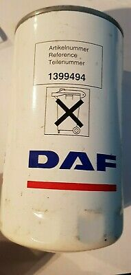 new genuine daf oil filter 1399494