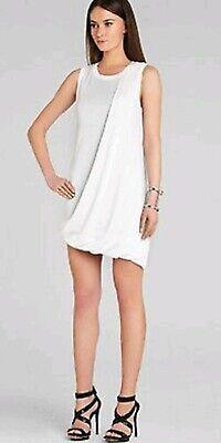 - NEW BCBG MaxAzria Evie Dress Draped Bubble Skirt Size SP