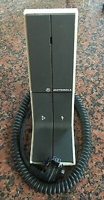 Motorola Desk Mic Astro Spectra Xtl Hmn1050c Good Condition Vhfuhf800