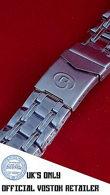 New Vostok Russian Watch Bracelet Stainless Steel 18mm UK Seller