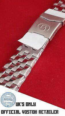 New Vostok Russian Watch Bracelet Stainless Steel 18mm UK Seller
