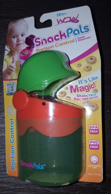 Wow Kids - Snack Pals Portion Control Snack Dispenser