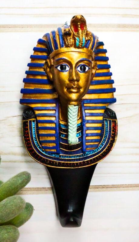 Ebros Egyptian King TUT Pharaoh Tutankhamun Wall Hook Decor Accent For Coats