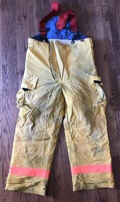 Vintage 40x29 Firefighter Pants Wsuspenders Turnout Fire Dex Fire Gear