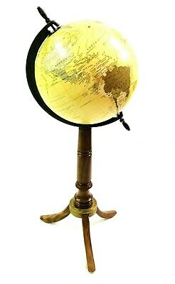 tkarte-Globus Ornament mit Holzständer Haus & Büro Dekor (Globus Ornament)