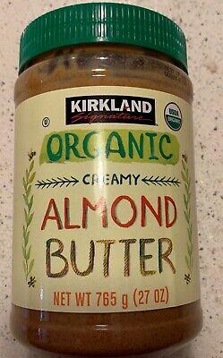Kirkland Signature ORGANIC Creamy Almond Butter Organic is Better Free (Best Organic Almond Butter)
