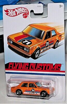 HOT WHEELS 2020 EXCLUSIVE FLYING CUSTOMS SERIES '71 DATSUN 510 HTF!