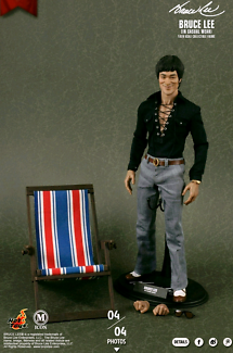 Bruce lee casual wear hot toy - bnib