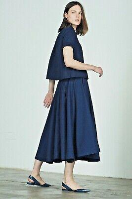 King and Tuckfield Ladies Full Skirt Indigo BNWT  RRP£220 - Medium