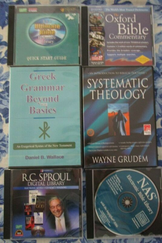 Logos Bible Software Lot w/ Commentaries - Systematic Theology - Greek Grammar
