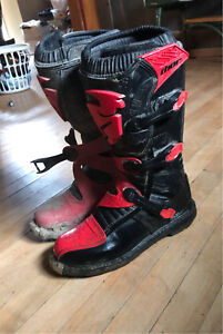 Thor racing dirt bike boots (size 11)