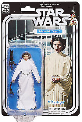 Princess Leia Organa STAR WARS Black Series 40th Anniversary ANH 6