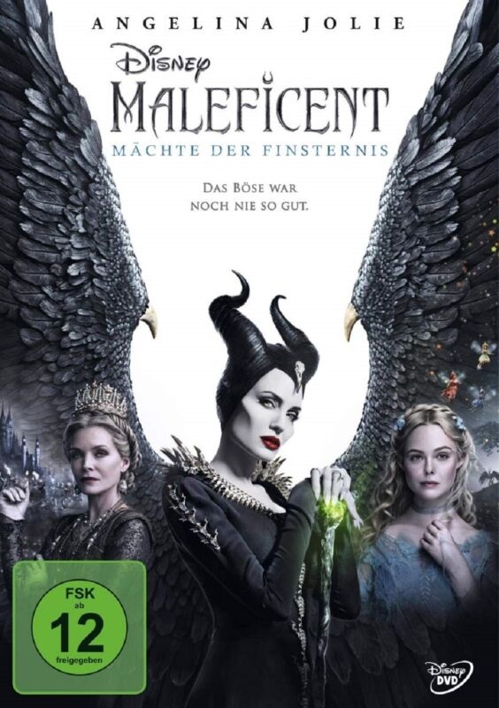 Maleficent 2 Mächte der Finsternis DVD Angelina Jolie Walt Disney Vorbestellung