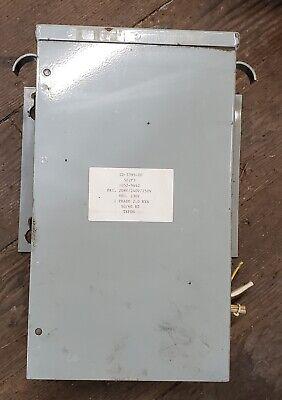 Hevi-duty Isolation Transformer 1ph 2.0 Kva 208240250v Taps Primary 230v Sec