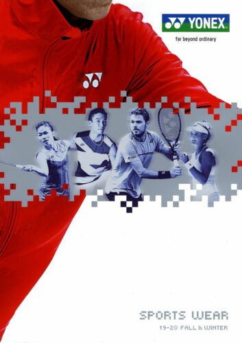 YONEX sports wear catalog