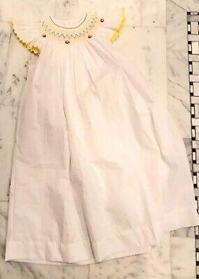 Little Girl Smocked Dresses (Smocking...White embroidered Smocked Little Girl's Dress, Remember Nguyen, Sz)