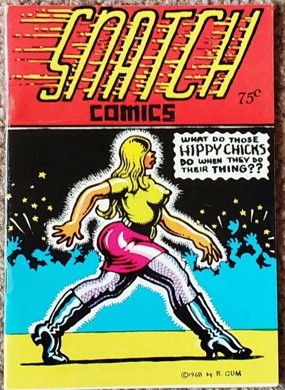Snatch #1 (1969) Crumb FINE Free Shipping!