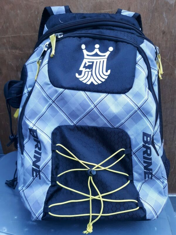 BRINE LACROSSE BACKPACK BAG FIELD HOCKEY BACK PACK MINT CONDITION
