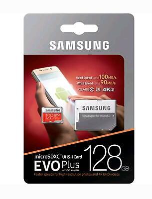 Samsung Evo Plus 64Gb 128GB Micro SD MicroSDXC C10 Memory Card with
