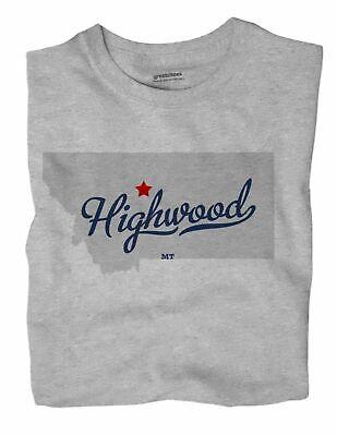 Highwood Montana MT T-Shirt MAP