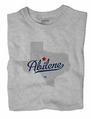 Abilene Texas TX Tex T-Shirt MAP