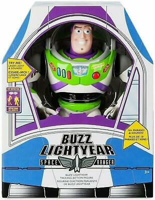"""NEW Disney Story Talking Buzz Lightyear 12""""  Toy Story Action figure  for sale  Shipping to India"""