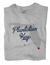 Plantation Key Florida FL T-Shirt MAP   eBay