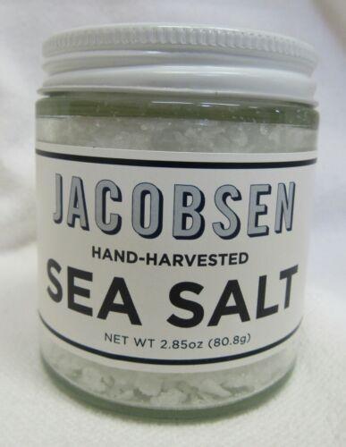 Jacobsen Flake Sea Salt Hand Harvested in Oregon, USA Made 2.85 oz Jar