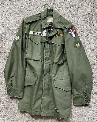 US Army M1951 OG107 Sateen field jacket x-small Regular
