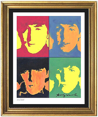 Andy Warhol Signed & Hand-Numberd Limited Edition