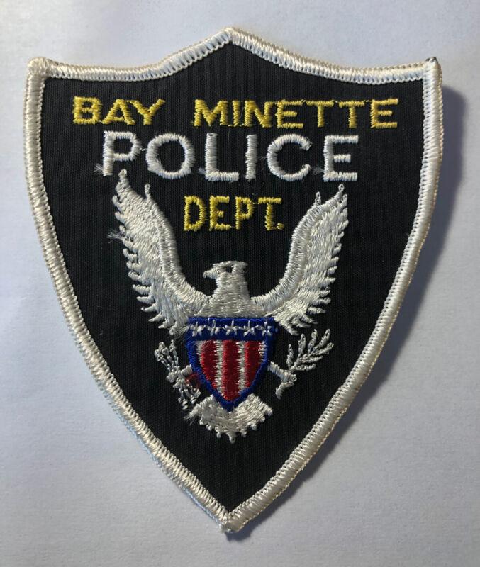 Vintage Bay Minette Alabama Police Patch