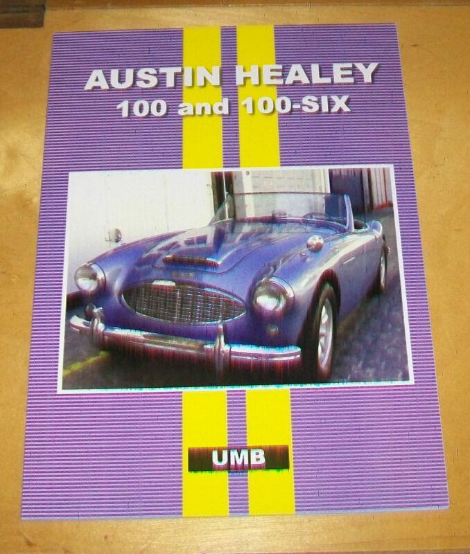AUSTIN+HEALEY+100+%26+100-6+ROAD+TESTS+%2B+AUTOSERV+SERVICING+DATA.+BOOK.+UMB