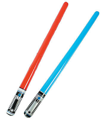 24 Inflatable Lightsabers Party Favor Goody Bag Star Wars De